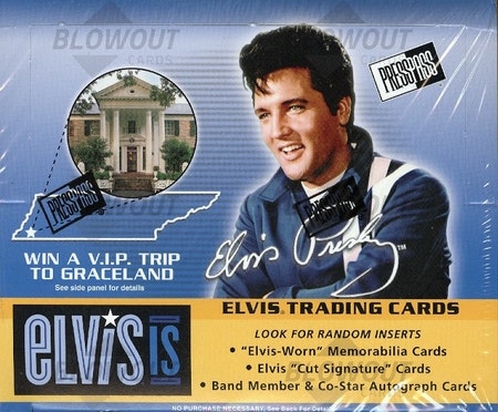 2007 Press Pass Elvis Is (Retail Box)