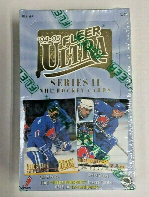 1994-95 Fleer Ultra Series 2 (Hobby Box)