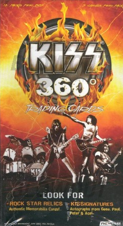 2009 Press Pass KISS 360 (Blaster)