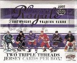 2001-02 Crown Royale (Hobby Box)