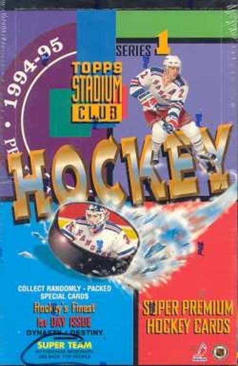 1994-95 Topps Stadium Club Series 1 (Hobby Box)