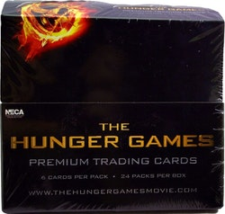 The Hunger Games: Catching Fire Movie Trading Cards Box (NECA)