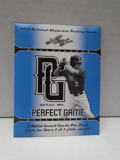 2013 Leaf Perfect Game Showcase Baseball (Metal Insert Bonuspack)