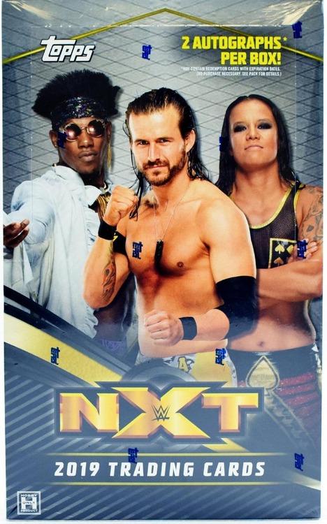 2019 Topps WWE NXT Wrestling (Hobby Box)