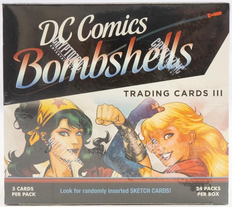 DC Comics Bombshells Series 3 Trading Cards Box (Cryptozoic 2019)