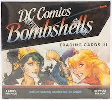 DC Comics Bombshells Series 3 Trading Cards Box (Cryptozoic 2019)