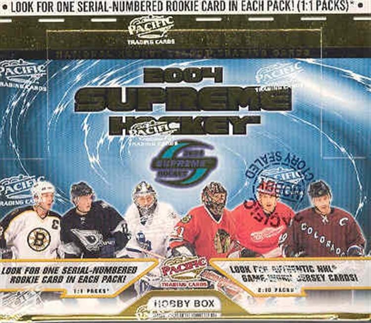 2003-04 Pacific Supreme (Hobby Box)