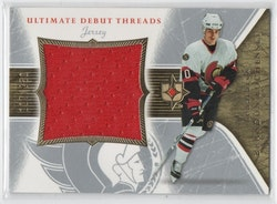 2005-06 Ultimate Collection Ultimate Debut Threads Jerseys #DTJBB Brandon Bochenski (25-CL30-GAMEUSED-SERIAL-RC-SENATORS)
