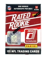 2010 Donruss Rated Rookie Football (Box Set)