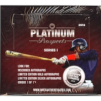 2013 Onyx Authenticated Platinum Prospects Series 1 (Hobby Box)