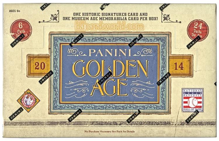 2014 Panini Golden Age Baseball (Hobby Box)