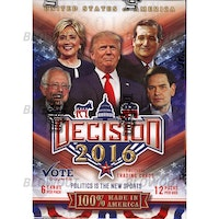 Decision 2016 Trading Cards (Blaster Box)