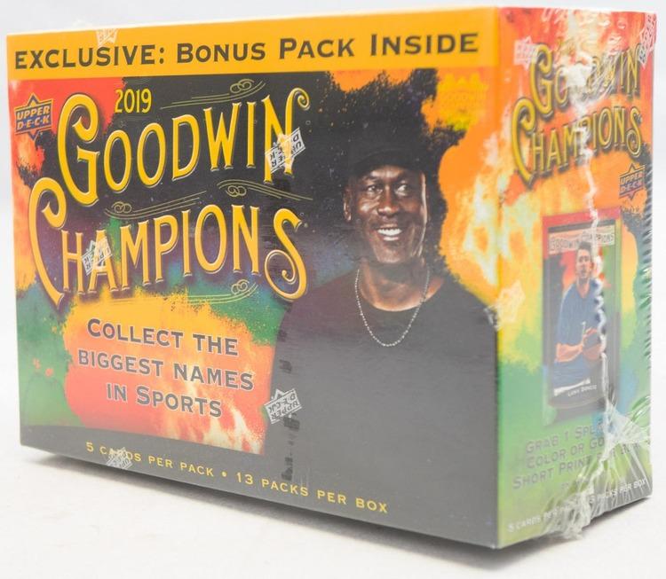 2019 Upper Deck Goodwin Champions (Mega Box)