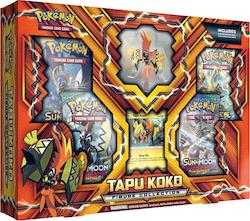 Pokemon Tapu Koko Figure Collection (Gift Set Box)