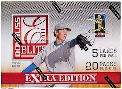 2011 Donruss Elite Extra Edition Baseball (Hobby Box)