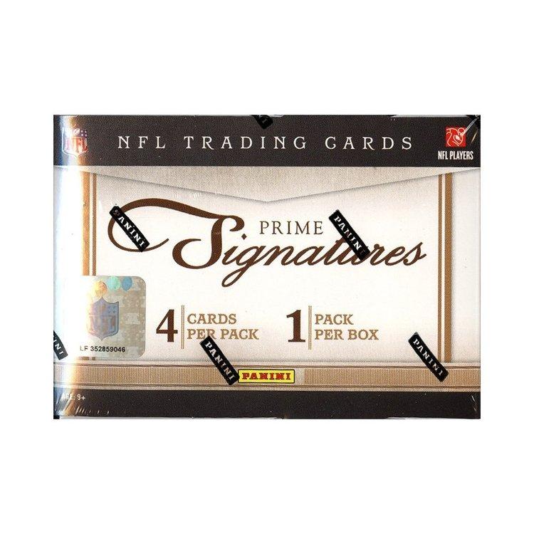 2011 Panini Prime Signatures Football (Hobby Box)