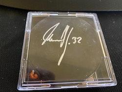 Olaf Kolzig Autographed Hockey Puck JSA COA