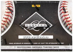 2011 Panini Limited Baseball (Hobby Box)