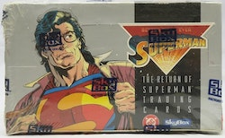 DC Return of Superman Hobby Box (1993 Skybox)