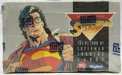 DC Return of Superman Hobby Box (1993 Skybox)