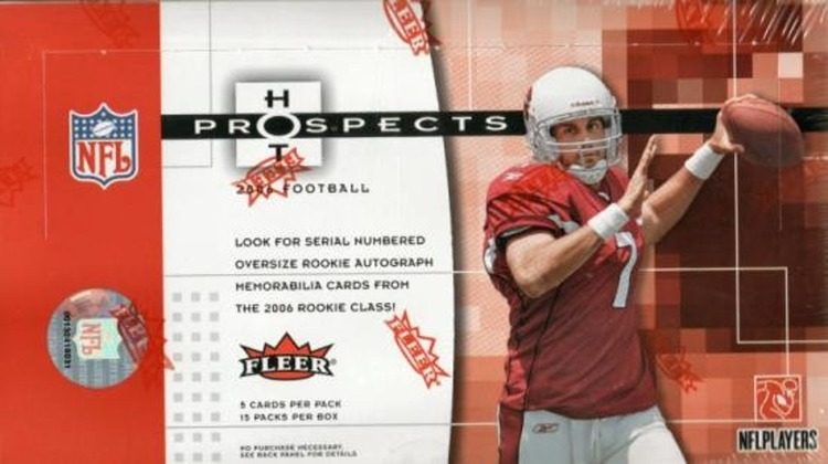 2006 Fleer Hot Prospects Football (Hobby Box)