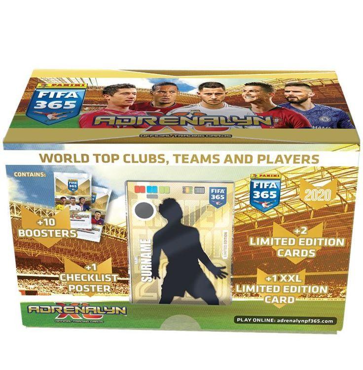 2019-20 Panini Adrenalyn XL - FIFA 365 Gift Box