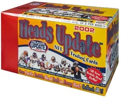 2002 Pacific Heads Update Football (Hobby Box)