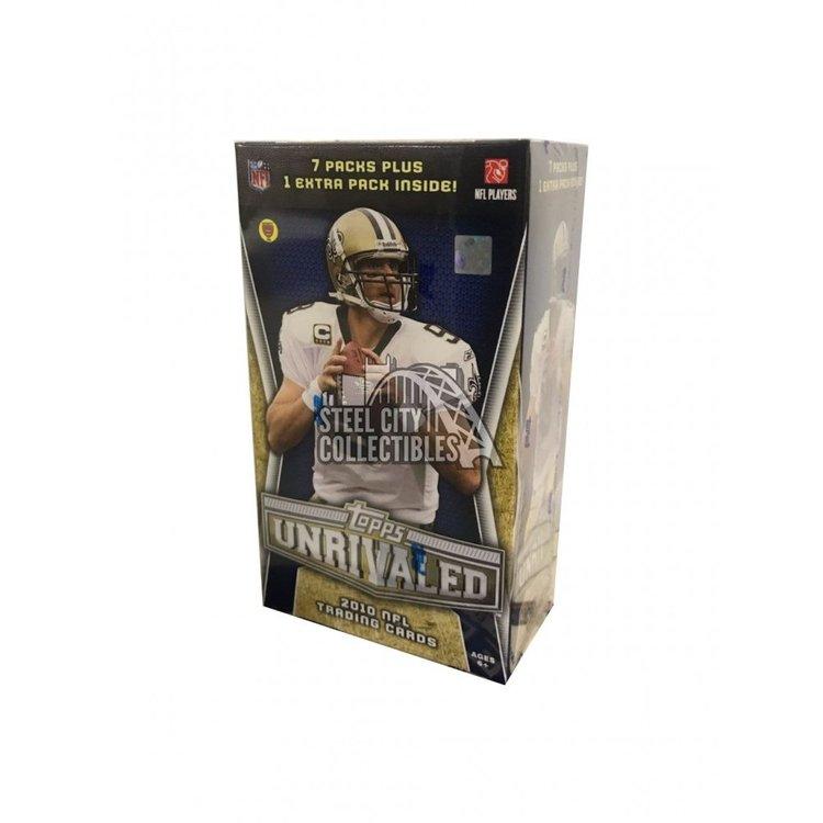 2010 Topps Unrivaled Football (8-Pack Blaster Box)