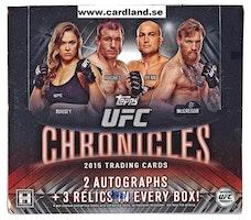 2015 Topps UFC Chronicles (Hobby Box)