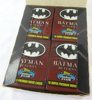 1992 Topps Stadium Club Batman Returns (Löspaket)