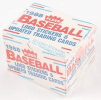 1988 Fleer Baseball Update Set (Mini Box)