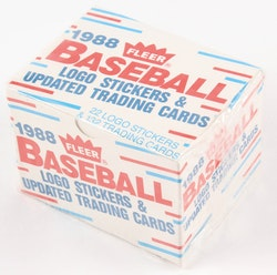 1988 Fleer Baseball Update Set (Mini Box)
