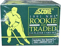 1991 Score Rookie and Traded (Set Box)