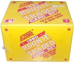1990 Score Rookie and Traded Baseball (Set Box)