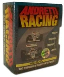 Andretti Racing 1992 Collect-A-Card Card Factory Set