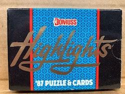 1987 Donruss Highlights Baseball (Set)
