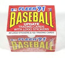 Fleer 1991 Baseball Update Baseball Cards Box Set