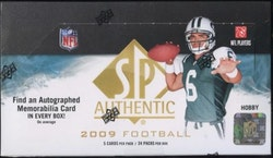 2009 Upper Deck SP Authentic Football (Hobby Box)