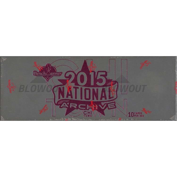 2015 Benchwarmer National Archives Trading Cards (Hobby Box)
