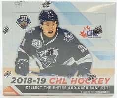 2018-19 Upper Deck CHL (Hobby Box)