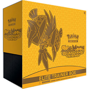 Pokemon Sun & Moon SM2 Guardians Rising (Elite Trainer Box)