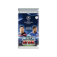 2015-16 Topps Match Attax Champions League Nordic Edition (Löspaket)