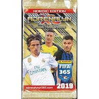 2018-19 Panini Adrenalyn XL Nordic Edition FIFA 365 (Löspaket)