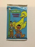 1992 Sesame Street Trading Card Pack