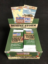 1991 Pro Set Desert Storm (Löspaket)