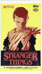 Stranger Things Trading Cards Booster Pack (Topps 2018)
