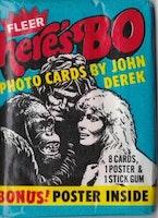 1981 Fleer Here's Bo Photo Cards (Löspaket)