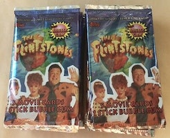 1993 Topps The Flintstones Movie Trading Card Pack