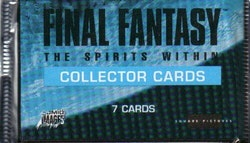 Final Fantasy: The Spirits Within Collector Card Pack
