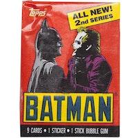 1989 Topps Batman Trading Cards - Series 2 (Löspaket)